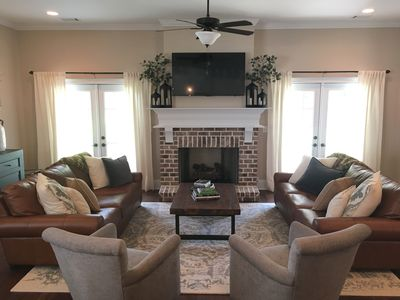 Photo for Augusta Womens Amatuer / Masters Rental - OPEN CONCEPT; Great for Groups!