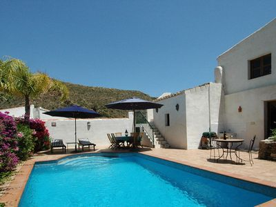 Photo for Period Village House, Private Pool, Beautiful Countryside Setting. WIFI, TV etc.