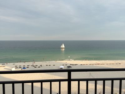Photo for Beautiful 2 Bedroom Condo on the 7th Floor with Great Views of the Gulf!