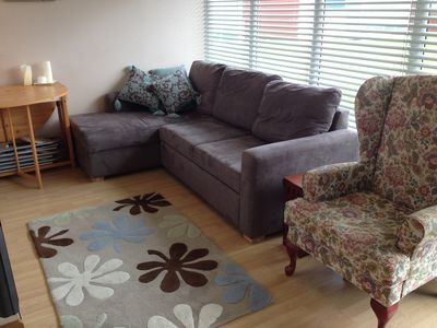 Photo for Comfortable chalet in small friendly holiday park