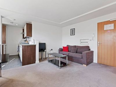 Photo for Modern Studio apt w/Living Room in West Kensington