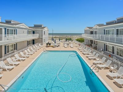 Photo for Outstnading Beach & Ocean Views; Steps To Boardwalk & Beach; -sleeps 4