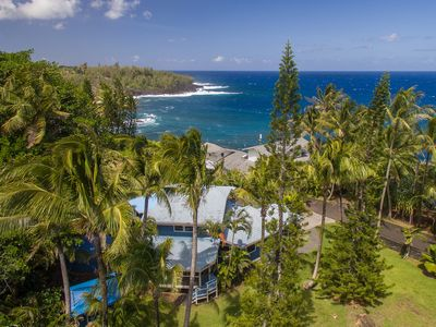 Photo for Black Sand Beach House ~ Ocean Views ~ Minutes from the New Pohoiki Beach!!