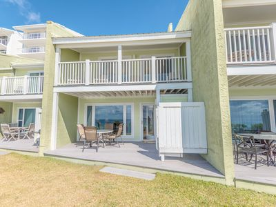 Photo for Gulf front townhouse with community pool, incredible views- Blue Mountain Beach