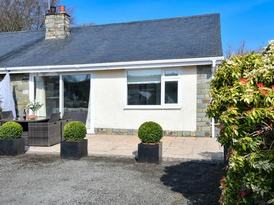 Photo for Cosy house with private terrace in the centre of Llanebedrog and near the beach