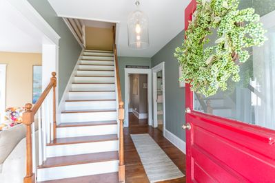 Stylishly comfortable home with all the charm of an older home. Truly a gem!