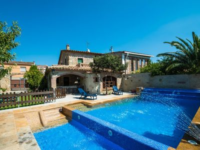 Photo for 4 bedroom Villa, sleeps 7 in Sant Antoni de Calonge with Pool, Air Con and WiFi