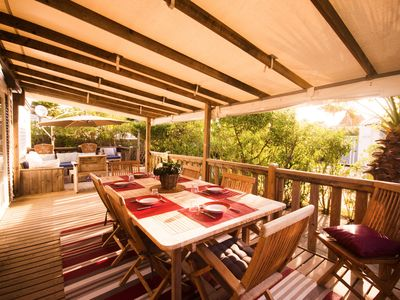 Nice and spacious air-conditioned bungalow - Golden Fleece - Ramatuelle