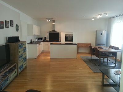 Photo for Luxury apartment in Nuremberg-111 m2, 2-3 bedrooms / 4-5 beds, living room