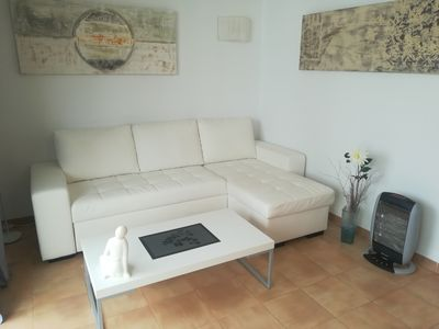 Photo for Nice bright apartment with partial sea view about 100 m to the beach and sea