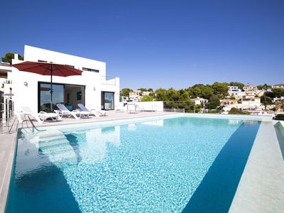 Photo for This 3-bedroom villa for up to 6 guests is located in Benissa and has a private swimming pool.......