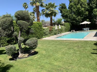Photo for Luxurious Private Desert 3 BR Retreat Just Steps from El Paseo