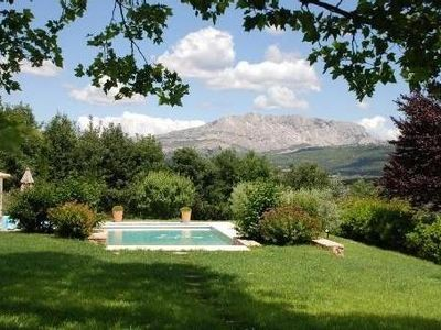 Photo for Quiet prop with breathtaking views of Sainte Victoire located in Meyreuil