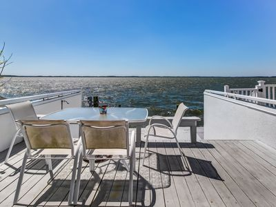 Photo for Stunning bayfront home features boat slip and great location for exploring!