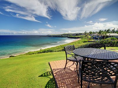Photo for Kapalua Bay Gold Stunning Beach Front Steps to Sand! Limited Special Rate!