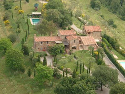 Photo for PRIVATE TUSCAN VILLA WITH PRIVATE POOL FOR 8 PEOPLE