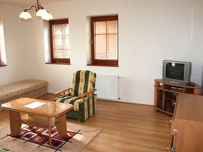 Photo for Apartment Hofberg in Ceska Kamenice/Bohemian Switzerland - 4 persons, 1 bedrooms