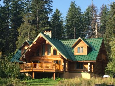 Photo for The Bear Den - A gorgeous, serene, log cabin surrounded by breathtaking scenery!