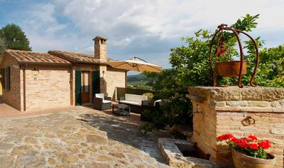 Photo for Single house in an exclusive place to spend a relaxing holiday in Tuscany