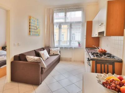 Photo for Tyrsova Nice  apartment in Nove Mesto with WiFi & lift.