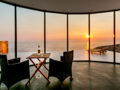 Exclusive large seafront villa with spectacular Adriatic sea views.