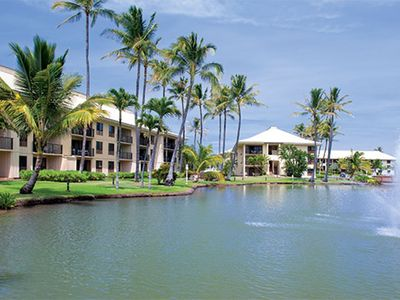Photo for Beautiful Beach one bedroom Villa in Wyndham Kauai resort, Hawai