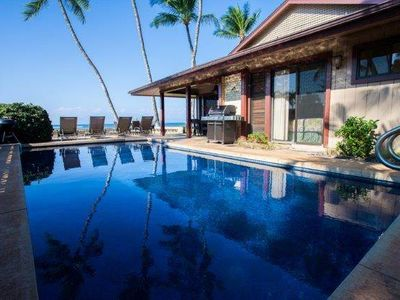 Photo for Beachfront - Private Home- Swimming Pool