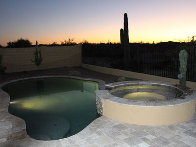 Photo for Brand New! Luxurious Resort Style Home Incredible Heated Pool/Spa Desert View!!