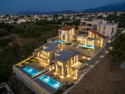 Photo for Eland Dream Villas - Villa Avra - 8-10 people