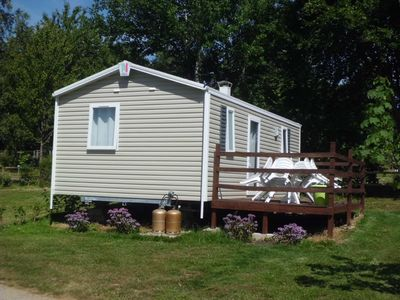Photo for 2 Mobilhomes Rideau Primo Duo for 12 people