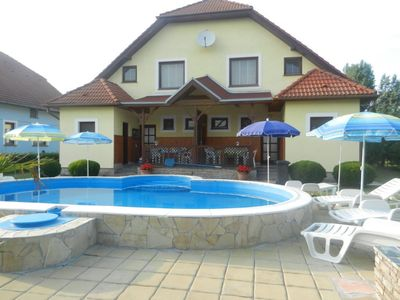 Photo for House in the center of Balatonmáriafürdő with Parking, Internet, Washing machine, Pool (123879)