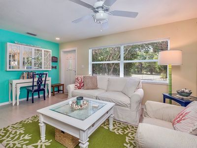Photo for Two bedroom/one bathroom duplex nicely updated and close to the beach