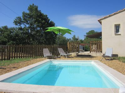 Photo for House with pool between Saint Saturnin les Apt and Roussillon
