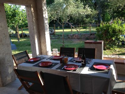 Photo for Bottom of villa for 4 people in peace and close to beaches