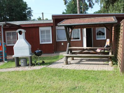 Photo for Cosy bungalow directly on the Salzhaff's pristine beach