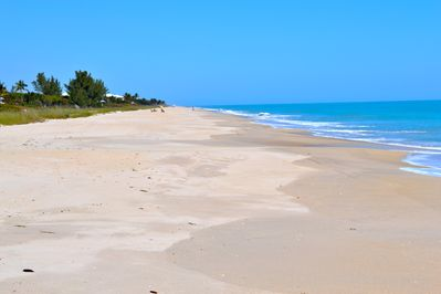 Enjoy this wide, uncrowded, private beach...as beautiful as it comes!