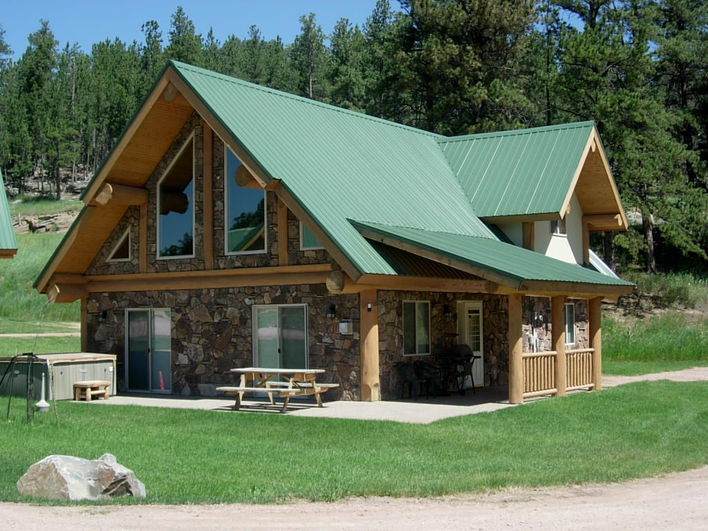 2 bedroom log cabin located in heart of bla vrbo for Two room log cabin