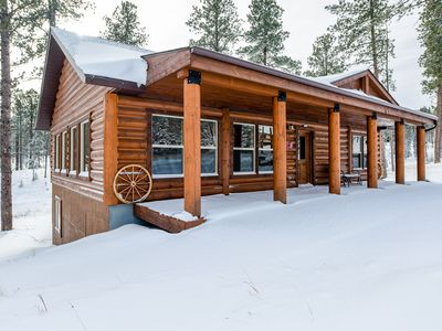 Photo for Gold Run Lodge - All Paved Roads, Minutes To Deadwood, Hot Tub