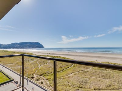 Photo for Beautiful oceanfront, dog-friendly condo w/ shared pool, & hot tub