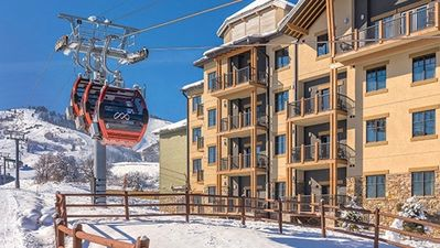 Photo for Luxury Ski In/Ski Out 2 BR 2 BA Wyndham Park City - REDUCED PRICE $250per Night
