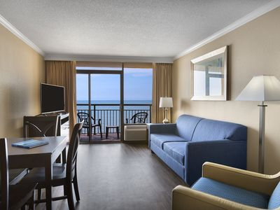 Photo for Executive Suite w/ Great Oceanfront View + Official On-Site Rental Privileges