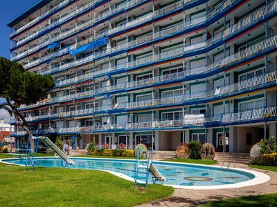 Photo for Scenic Apartment in Canet del Mar with Swimming Pool