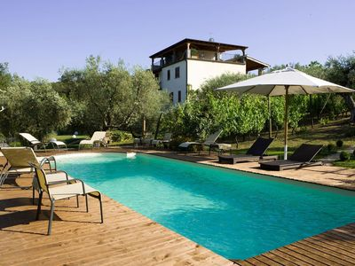 Photo for 12 bedroom Villa, sleeps 22 with Pool, Air Con and FREE WiFi
