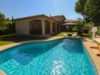 Photo for 3BR Villa Vacation Rental in Montpellier, Occitanie