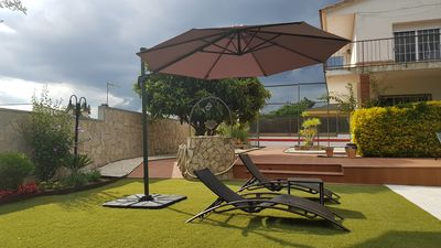 Photo for House with garden and private pool, basketball court, wifi. On the Costa Brava.