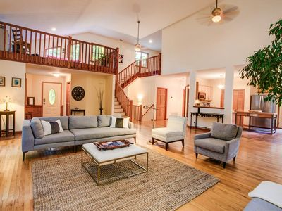 Photo for Blackberry Lodge - A Luxurious Asheville Contemporary Cabin W/Hot Tub & Game Room