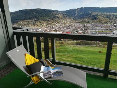 Photo for Gérardmer, in chalet - large corner balcony and panoramic view - 2-5 pers