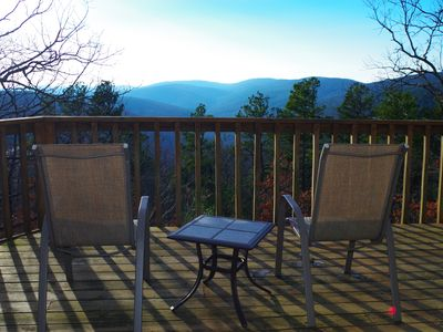 Photo for Peckerwood Knob Sunset Cabin; Mountaintop seclusion in SE Oklahoma; Great View