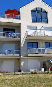 Photo for Superb Beach Front Apartment in Concarneau