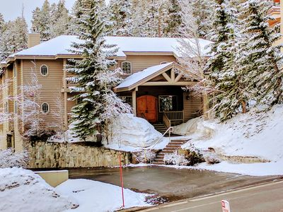 Photo for Truly Special❆Steps To Canyon Lifts❆Private Hot Tub & Sauna❆Garage/Locker❆Sleds
